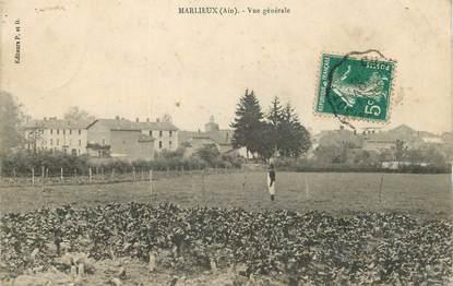 """/ CPA FRANCE 01 """"Marlieux, vue générale"""""""