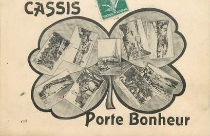 """CPA FRANCE 13 """"Cassis, porte bonheur"""""""