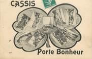 """13 Bouch Du Rhone CPA FRANCE 13 """"Cassis, porte bonheur"""""""