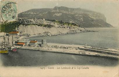 """CPA FRANCE 13 """"Cassis, les lombards"""""""