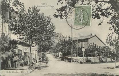 """/ CPA FRANCE 04 """"Volx, la rentrée du village"""""""
