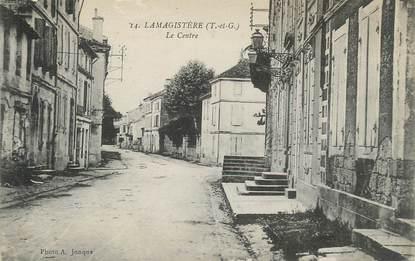 """CPA FRANCE 82 """"Lamagistère, le centre"""""""