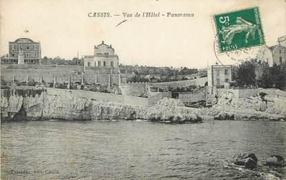 """CPA FRANCE 13 """"Cassis, vu de l'Hotel, Panorama"""""""