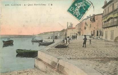"""CPA FRANCE 13 """"Cassis, le quai Barthélémy"""""""