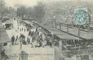 """92 Haut De Seine / CPA FRANCE 92 """"Boulogne sur Seine, le marché"""""""