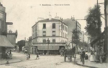 """/ CPA FRANCE 92 """"Asnières, place de la Comète"""""""