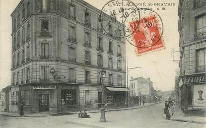 """CPA FRANCE 93 """"Le Pré saint Gervais, la rue de Pantin"""""""