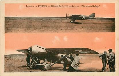 "CPA FRANCE 13 ""Istres, aviation"""