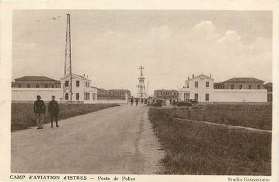 "CPA FRANCE 13 ""Istres, camp d'aviation"""