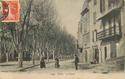 """CPA FRANCE 13 """"Istres, le cours"""""""