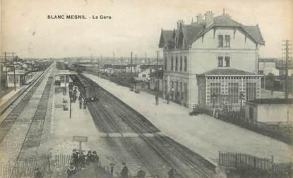 """CPA FRANCE 93 """"Le Blanc Mesnil, la gare"""" / TRAIN"""