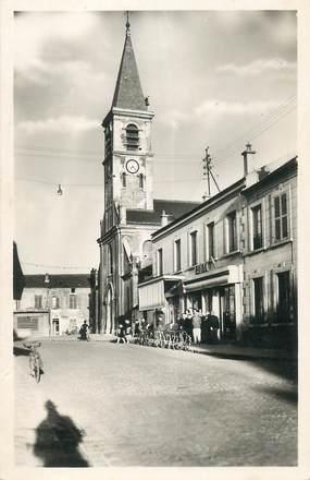"""CPSM FRANCE 93 """"Bobigny, Eglise saint André, Place Gabriel Péri"""""""