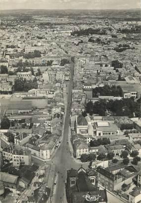 """/ CPSM FRANCE 42 """"Roanne, vue aérienne sur la ville"""""""