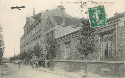 """/ CPA FRANCE 92 """"Issy Les Moulineaux, écoles de la rue Thiers"""""""