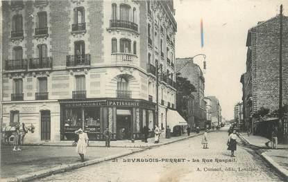 "/ CPA FRANCE 92 ""Levallois Perret, la rue Raspail"""