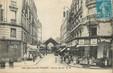 "/ CPA FRANCE 92 ""Levallois Perret, rue du Marché"""