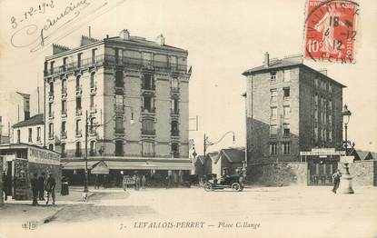 "/ CPA FRANCE 92 ""Levallois Perret, place Collange """