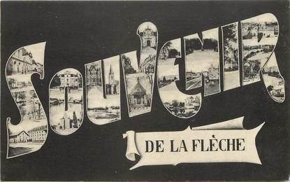 """CPA FRANCE 72 """"Souvenir de La Flèche"""""""