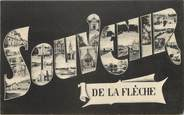 "72 Sarthe CPA FRANCE 72 ""Souvenir de La Flèche"""