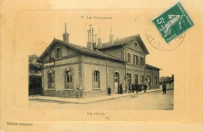 """/ CPA FRANCE 92 """"La Garenne Colombes, la gare"""""""