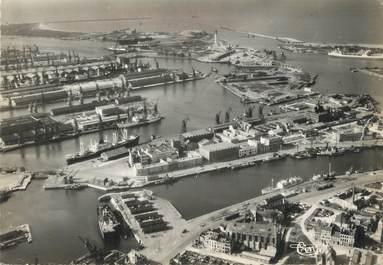 """/ CPSM FRANCE 59 """" Dunkerque, vue générale aérienne de l'avant port"""""""