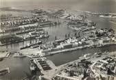 """59 Nord / CPSM FRANCE 59 """" Dunkerque, vue générale aérienne de l'avant port"""""""