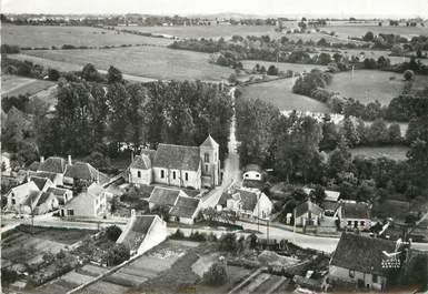 """/ CPSM FRANCE 58 """"Myennes sur Loire, quartier de l'église"""""""