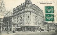 """92 Haut De Seine / CPA FRANCE 92 """"Clichy, Boulevard Victor Hugo et Bld de la Lorraine"""""""