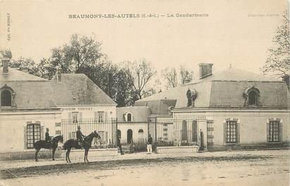 """/ CPA FRANCE 28 """"Beaumont Les Autels, la gendarmerie"""""""