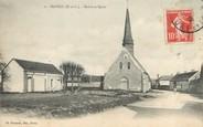 """28 Eure Et Loir / CPA FRANCE 28 """"Havelu, mairie et église"""""""