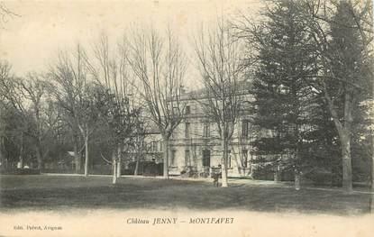 """CPA FRANCE 84 """"Montfavet, Château Jenny"""""""