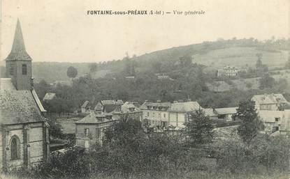 """CPA FRANCE 76 """" Fontaine sous Préaux, vue générale"""""""