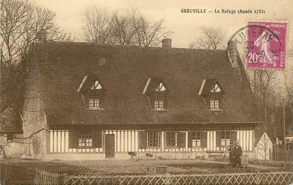 """CPA FRANCE 76 """" Greuville, le Refuge"""""""