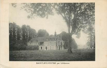 """CPA FRANCE 76 """" Saint Sylvestre par Lillebonne"""""""