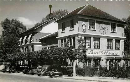 """CPSM FRANCE 78 """"Louveciennes, Restaurant Les Tilleuls"""""""
