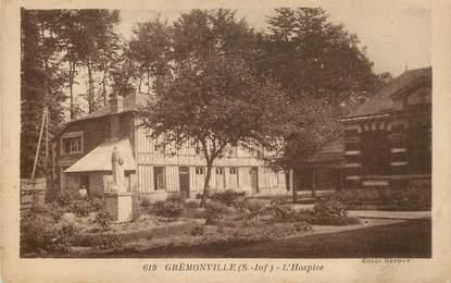 "CPA FRANCE 76 "" Grémonville, l'Hospice"""