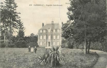 """CPA FRANCE 76 """" Flamanville, Propriété de Saint Arnoult"""""""