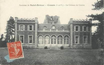 """CPA FRANCE 22 """"Env. de Saint Brieuc, Cesson, le chateau"""""""