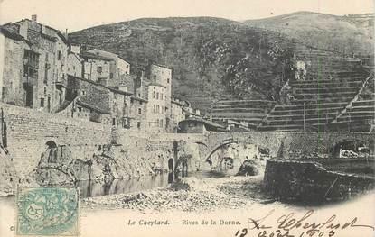"CPA FRANCE 07 ""le Cheylard, rives de la Dorne"""