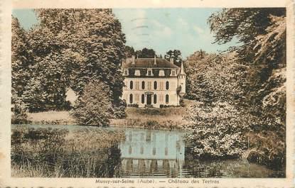 """CPA FRANCE 10 """"Mussy sur seine, Chateau des Tertres"""""""