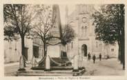 """17 Charente Maritime CPA FRANCE 17 """"Mirambeau, place de l'Eglise et monument aux morts"""""""