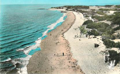 """CPSM FRANCE  17 """"Ile d'Aix, la grande plage"""""""