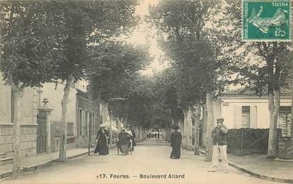 """CPA FRANCE  17 """"Fouras, le bld Allard"""""""