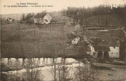 """/ CPA FRANCE 23 """"La Celle Dunoise, le moulin de la Barde"""""""