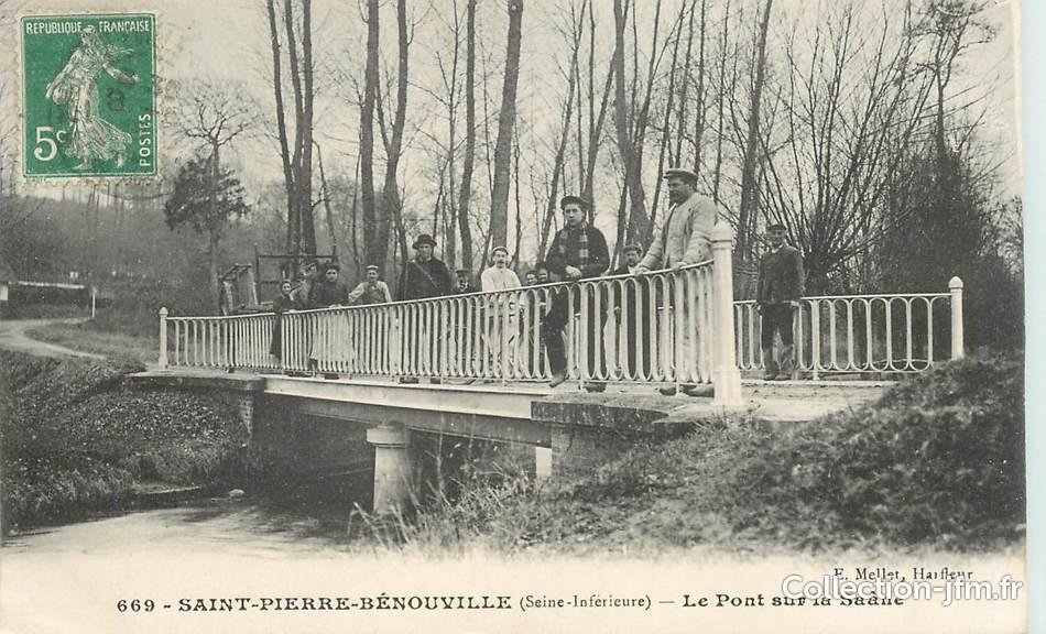 Cpa france 76 saint pierre b nouville le pont sur la seine 76 seine maritime autres - Piscine pierre harvey asnieres sur seine ...