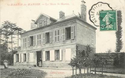 """CPA FRANCE  76 """"Saint Martin du Manoir, le Mont Saint Martin"""""""