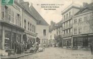 """21 Cote D'or / CPA FRANCE 21 """"Arnay le Duc entrée de la rue Saint Honoré, place Sadi Carnot"""""""