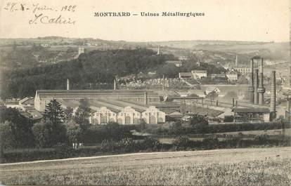 "/ CPA FRANCE 21 ""Montbard, usines métallurgiques"""
