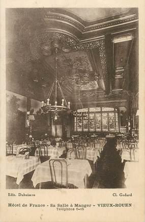 """CPA FRANCE  76 """"Vieux Rouen, Hotel de France"""""""