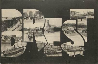 """CPA FRANCE 29 """"Brest"""" / Nom de la ville"""